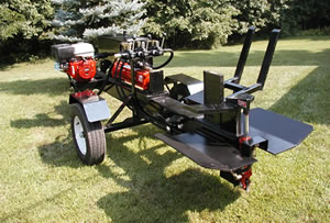 Hydraulic 4-Way Log Splitter