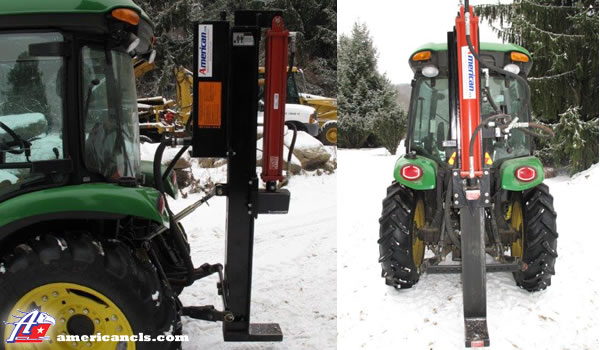 TM24V Vertical Tractor Mount