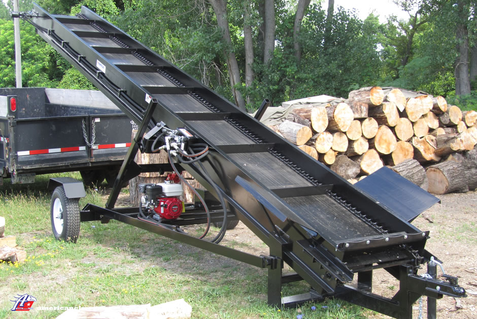 firewood conveyor - Home Built Log Splitter Plans