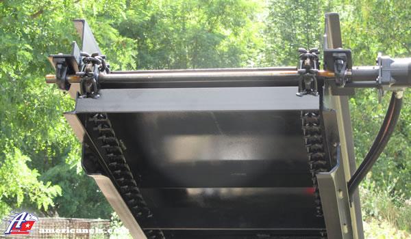 Firewood Conveyor Underneath Top
