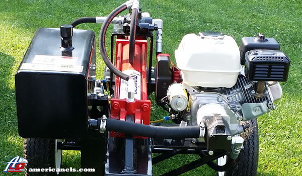 Low Boy AM25H Optional Honda 240GX Engine with 16 GPM 2-stage Hydraulic Pump